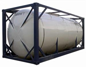 20-футовый танк-контейнер