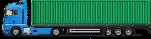 20-тонник с 40 футовым контейнером