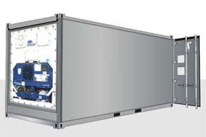 20-футовый контейнер-рефрижератор