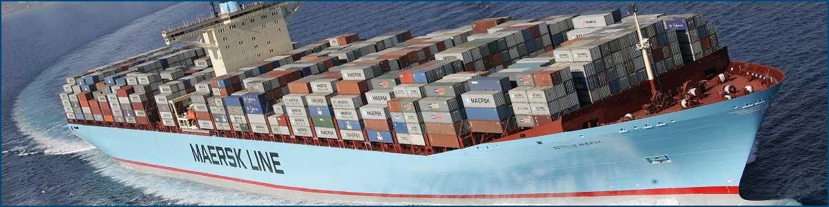 Доставка морем из Китая грузов от 1 кг